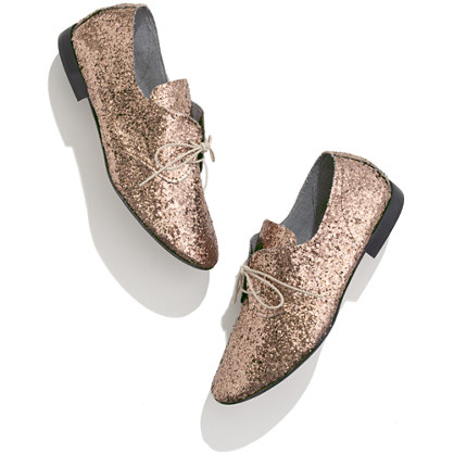 Anniel® Glitter Oxfords
