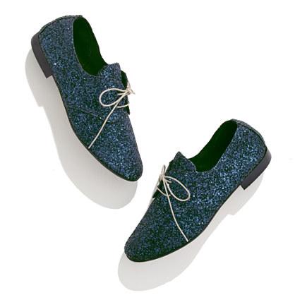 Anniel® Glitter Oxfords