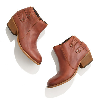 H by Hudson™ Rosse Buckle-Back Ankle Boots