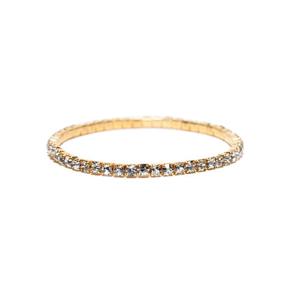Cara Accessories™ Rhinestone Stretch Bracelet