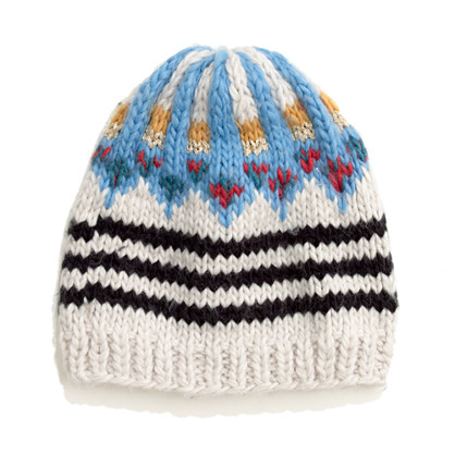 1717 Olive™ Handknit Fair Isle Hat