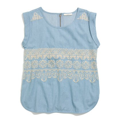 By Zoé™ Embroidered Eliot Top