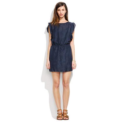 Jacquard Flutter Dress