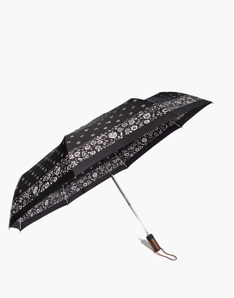 Rainy-Day Umbrella in true black image 1