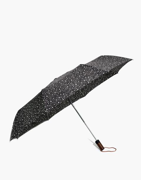 Rainy-Day Umbrella in classic black multi image 1