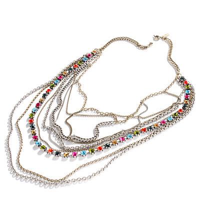 Cascade Colordrop Necklace