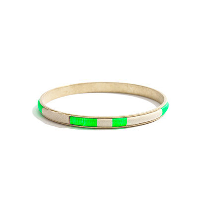 Hare + Hart Skinny Suede Bangle