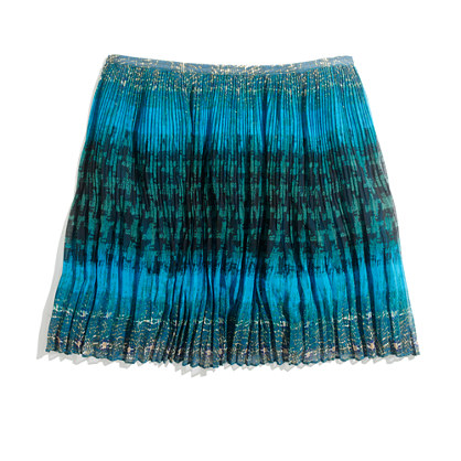 multiprint pleated mini