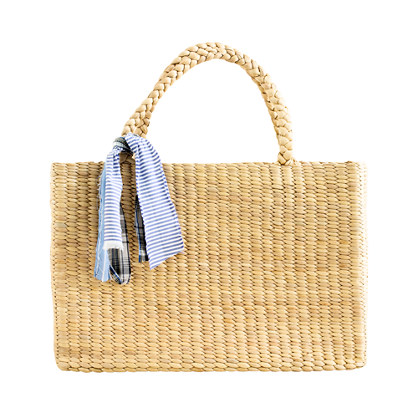 Wanderlust Straw Tote : ACCESSORIES | Madewell