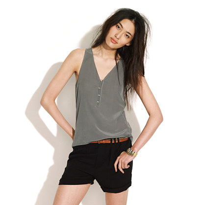 Sandwashed Silk Tank