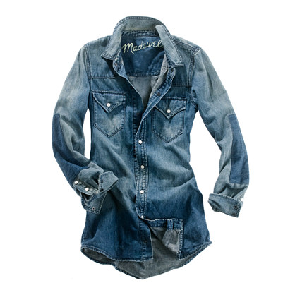 Dustbowl Denim Shirt in Forge Wash