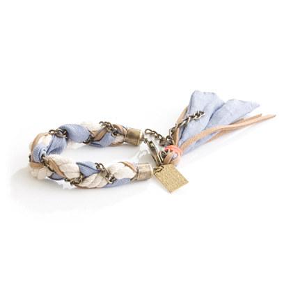 Lizzie Fortunato Jewels for Madewell Braided Chain Bracelet