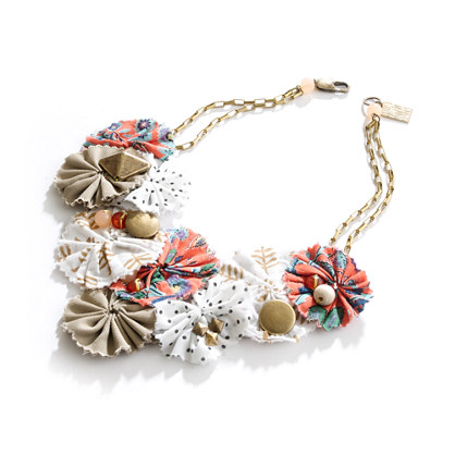 Lizzie Fortunato Jewels for Madewell Bouquet Necklace