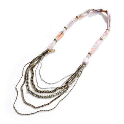 Lizzie Fortunato Jewels for Madewell Madras & Chains Necklace