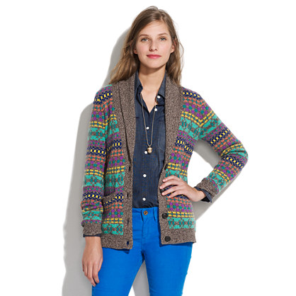 Color Track Cardigan