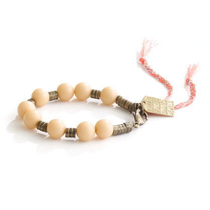 Lizzie Fortunato Jewels for Madewell Beaded Bracelet