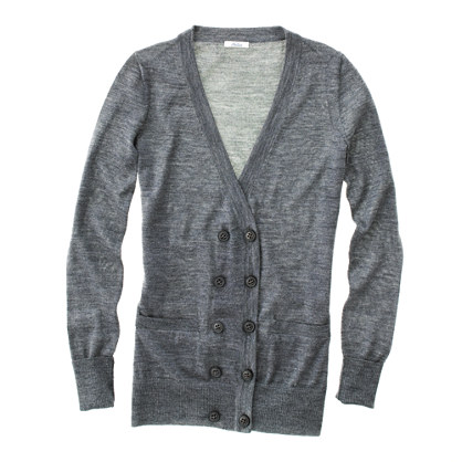 Twin-Button Cardigan