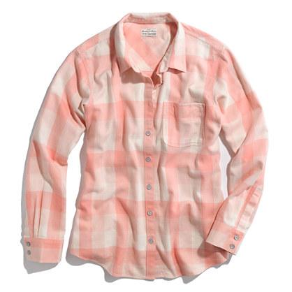 Checked Flannel Boyshirt