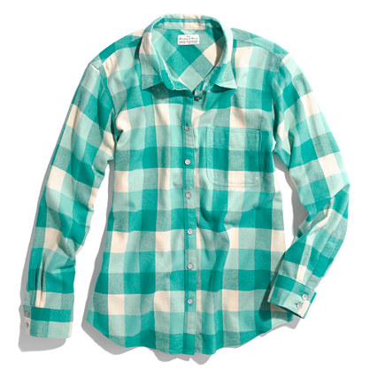Checked Flannel Boyshirt