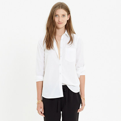 Essential White Boyshirt