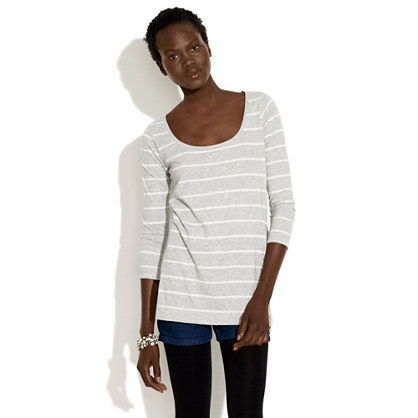 Zippy Striped Tee