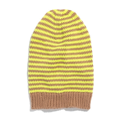 Cross-Stripe Hat
