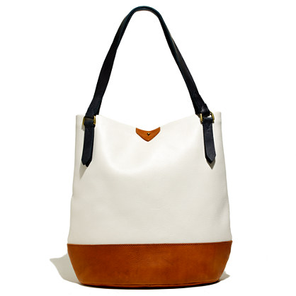 The Essex Tote in Colorblock