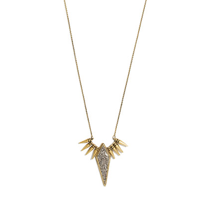 Lady Grey Apex Spike Necklace