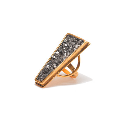 Lady Grey Trapezium Ring