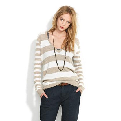 Striped Ex-Boyfriend Sweater : SWEATERS | Madewell