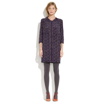 United Bamboo™ for Madewell Dotted Crepe Dress