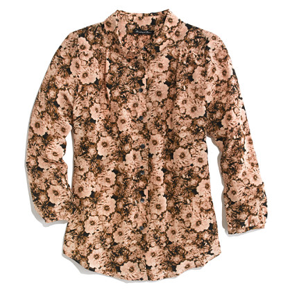 Pemberly Blouse in Photoflower