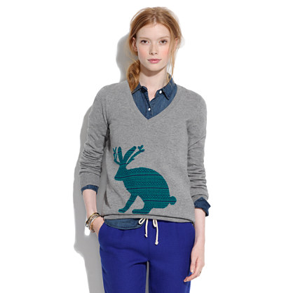 Giant Jackalope Sweater