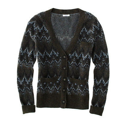Fair Isle Twilight Cardigan : SWEATERS | Madewell