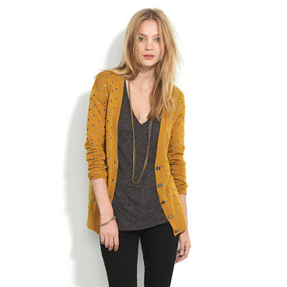 Dancing Dots Cardigan