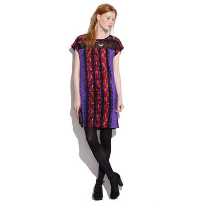 Silk Screenprint Dress