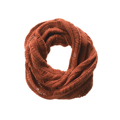 Slouchy Knit Circle Scarf