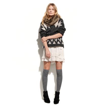 Chiffon Cascade Skirt