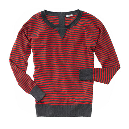 Striped Fielder Pullover