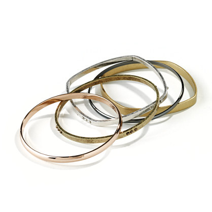 Mixed Metal Bangles