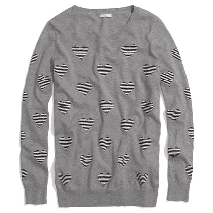 Heartstripe Sweater