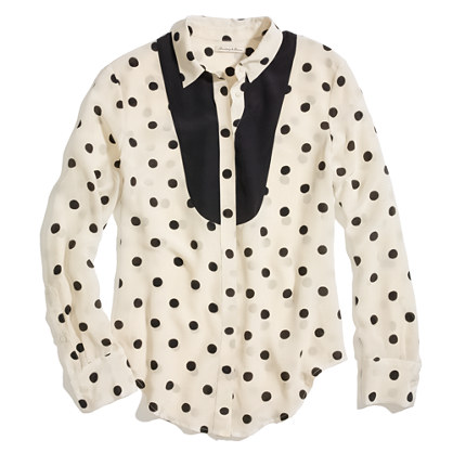 Dotted Tux Shirt