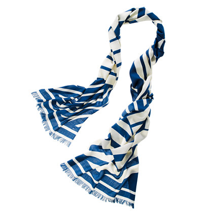 Striped Salute Scarf