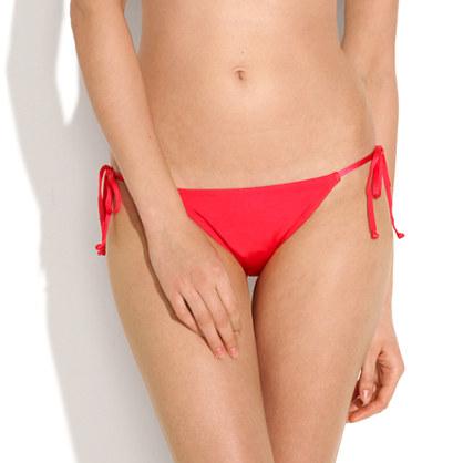 Solid String Bikini Bottom