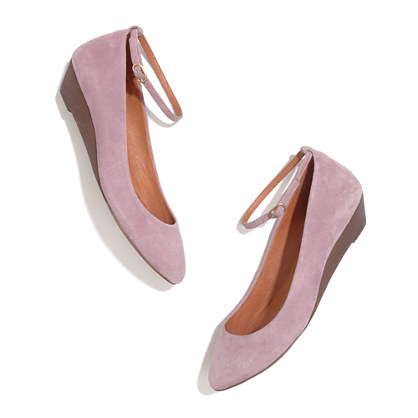 The Ankle Strap Mini Wedge