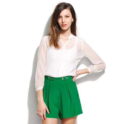 Spotted Matinee Blouse