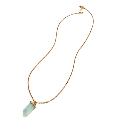 Crystal Charm Pendant Necklace
