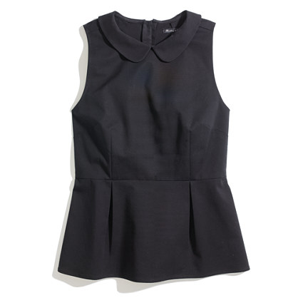 Tailored Peplum Top