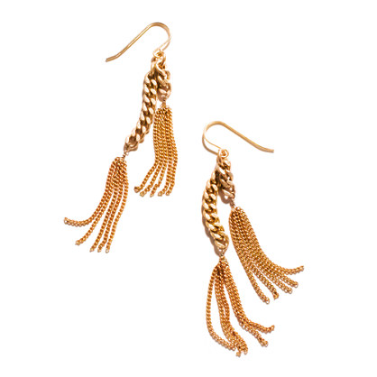 Tiny Tassels Earrings