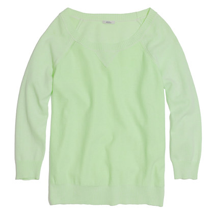 Sweatshirt Sweater in Neon